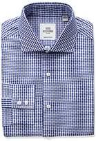 Ben Sherman Men's Kings Fit Slim Dobby Check Dress Shirt