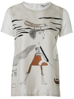 Max Mara Libico silk T-shirt