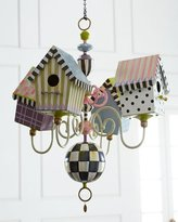 Mackenzie Childs MacKenzie-Childs Birdhouse Chandelier