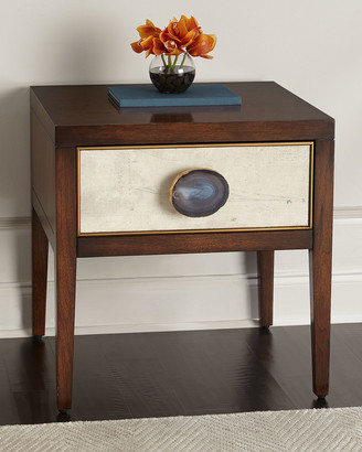 John-Richard Collection Tiza Single-Drawer Side Table