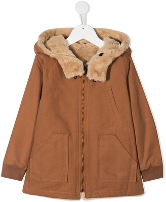 Emile et Ida Reversible Faux-Fur Jacket