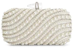 INC International Concepts Inc Lilah Pearl Clutch, Created For Macy's