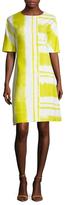 Carolina Herrera Printed Flare Dress