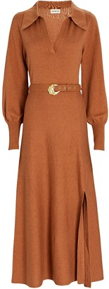 Nicholas Katya Cotton-Wool Sweater Dress