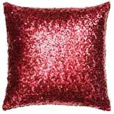H&M Sequined Cushion Cover - Red