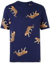 Paul Smith cheetah print T-shirt