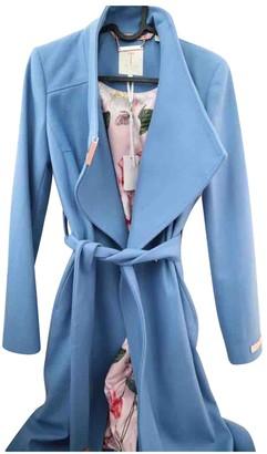 Ted Baker Blue Wool Coat for Women