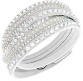 Swarovski Slake Crystal White Wrap Bracelet