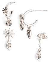 Luv Aj Women's Mismatch Starburst Earrings