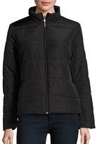 MICHAEL Michael Kors Zip-Front Puffer Coat