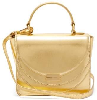 Wandler Luna Mini Metallic Leather Cross-body Bag - Womens - Gold