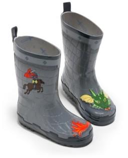 Kidorable Big Boy Natural Rubber Dragon Knight Rain Boots