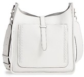 Rebecca Minkoff Unlined Whipstitch Feed Bag - White