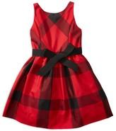 Ralph Lauren Girls' Plaid Taffeta Dress - Sizes 2-6X