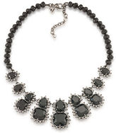 Carolee Gotham Hematite-Tone Statement Necklace