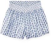 Ralph Lauren Smocked Paisley Pull-On Short