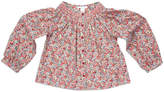 Marie Chantal Girls Smock Liberty Print Top