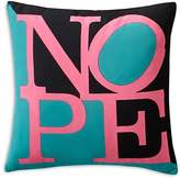 "Sparrow & Wren Nope Decorative Pillow, 18"" x 18"" - 100% Exclusive"