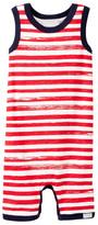 Coccoli Stripe Sleeveless Romper (Baby Boys)