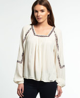 Superdry Topeka Square Neck Blouse