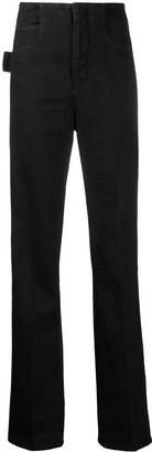 Bottega Veneta Side Striped Straight Jeans