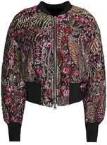 3.1 Phillip Lim Embroidered Twill Jacket