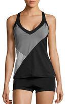 Nike V-Back Colorblock Tankini