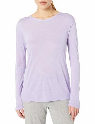 Hanes Women's Long Sleeve Lace Panel Tee
