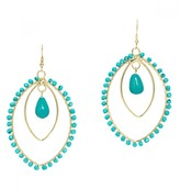 Mela Artisans Spirit in Turquoise Earrings