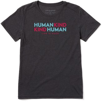 Life is Good Women's Human Kind, Kind Human Cool Tee