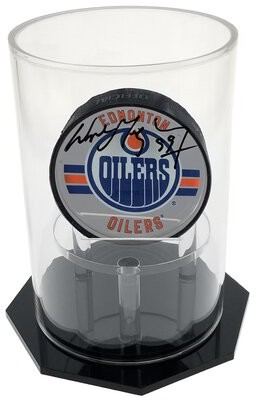 On Circle Display Deluxe UV-Protected Hockey Display Puck Case Vandue Corporation