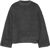 Elizabeth and James Kirk stretch-bouclé turtleneck sweater