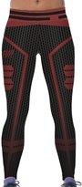 Jiayiqi Female Hero Theme Elements Skinny Pants Comfy Fiber Leggings Hot Sale