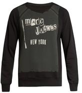 Marc Jacobs Logo-print Cotton-blend Jersey Sweatshirt
