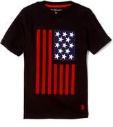 U.S. Polo Assn. Black Flag Crewneck Tee - Boys