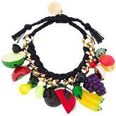 Venessa Arizaga fruit charm bracelet