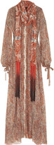 Bally Fringe scarf dress