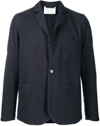 A Kind of Guise Long-Sleeved Patch Pocket Blazer