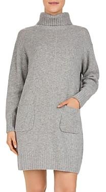 Gerard Darel Dinah Wool & Cashmere Turtleneck Sweater Dress