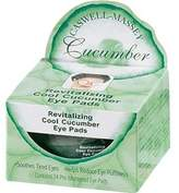 Caswell-Massey Cucumber Eye Pads (Jar of 24)