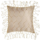 Isabella Collection Sheer Grace European Sham with Ruffle