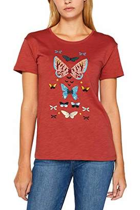 Esprit edc by Women's 089cc1k022 T-Shirt,Large