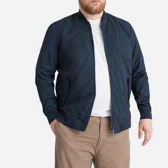 La Redoute Collections Plus Mid-Season Short Jacket with Mandarin Collar