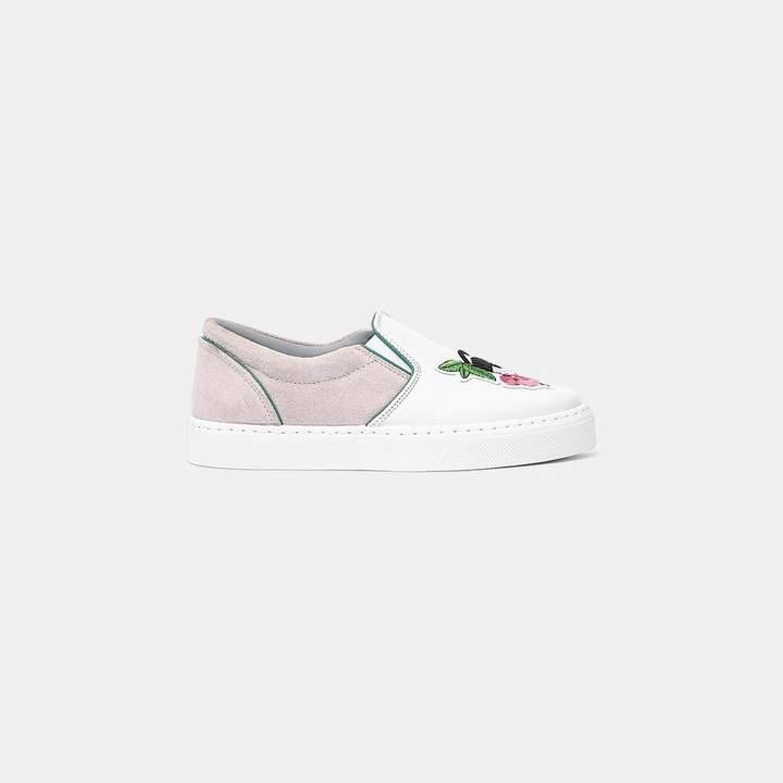 Chiara Ferragni Slip On Floral Sneaker