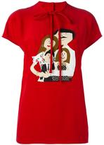 Dolce & Gabbana Family patch top
