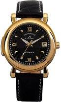 K&S KS Men's Date Day Automatic Mechanical Leather Watch + Gift Box KS062