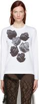 Comme des Garcons White Flower T-Shirt