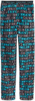 Calvin Klein Plush Printed Pajama Pants, Little Boys & Big Boys