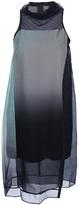 Helmut Lang 'Mecury' ombre dress