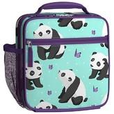 Pottery Barn Kids Classic Lunch Bag, Mackenzie Aqua Panda